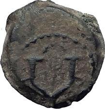 JOHN HYRCANUS I 134BC Jewish Jerusalem Ancient Biblical Widow's Mite Coin i64173