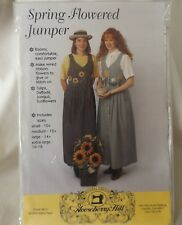 Gooseberry Hill Spring Flowered Jumper Dress Size 10 12 14 16 18 Sewing Pattern