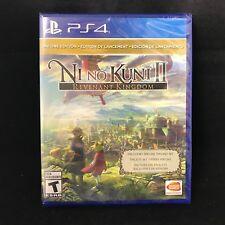 Ni No Kuni Kuni II: Revenant Kingdom - Day One Edition (PS4) BRAND NEW