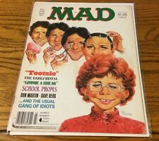 "Mad Magazine Back Issue #240 July 1983 ""Tootsie"""