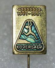 KOVERSADA VRSAR FKK Naturist Park Croatia Nudist camp beach pin badge 20th anni