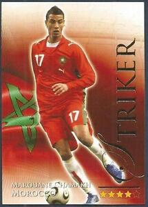 FUTERA 2010 WORLD FOOTBALL-SERIES 2- #660-MOROCCO-ARSENAL-MAROUANE CHAMAKH