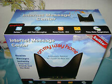 BROOKSTONE Internet Message Center for Text Messages Email Twitter Time Date