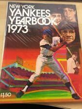 1973 New York Yankees Yearbook Sparky Lyle, Thurman Munson, Ruth, Gehrig, Joe D