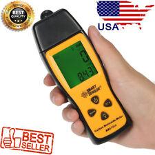Carbon Monoxide Meter Gas Leak/Leakage Detector Portable Tester CO w/ Batteries