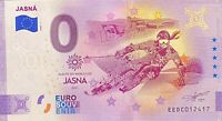 BILLET 0  EURO  JASNA  ANNIVERSARY  SLOVAQUIE  2020 NUMERO DIVERS