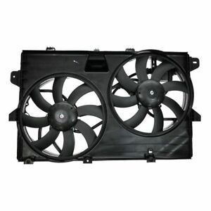 Dual Radiator Cooling Fan Assembly 7T4Z8C607A for Ford Edge Lincoln MKX