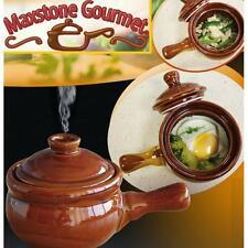 Maxstone Gourmet céramique grès micro-ondes cuisinière anti adhésif