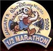 Disney WDW Donald Duck 1/2 Marathon Pin