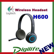 Logitech Wireless H600 Headset Noise-Canceling Headphone Nano USB Receiver