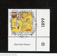 Bund 2035 , o , Eckrand mit Berliner FDC Stempel