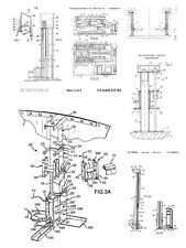 Screw Lift 80 Patents, 900 Pages
