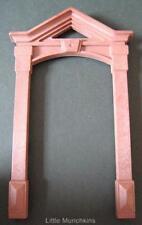 Playmobil Victoriano Mansion 5300 Repuesto Parte: marrón Exterior Puerta Envolvente Nuevo