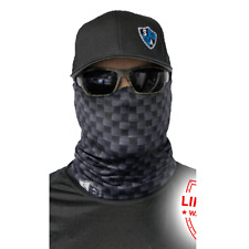 Salt Armour Sa Carbon Fiber Face Shield Sun Mask Neck Gaiter Balaclava *Usa*