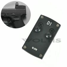 Mount Plate for Glock Pistol Handgun Fits VORTEX VENOM VIPER Micro Red Dot Sight