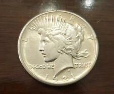 1921 PEACE SILVER DOLLAR KEY DATE HIGH GRADE NICE ORIGINAL COIN!