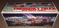 2005 HESS TRUCK EMERGENCY TRUCK WITH RESCUE VEHICLE NEW IN BOX
