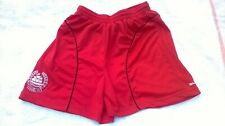 MENS  CLYDE FOOTBALL CLUB SHORTS SIZE S STURIDGE RED