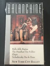 Balanchine VHS NEW sealed Ballo della Regina The Steadfast Tin Soldier