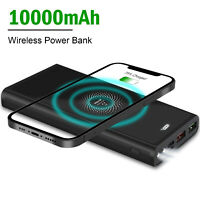 2021 New Power Bank 22.5W QC 3.0 Dual USB Type-C Fast Charge Battery 10000mAh US