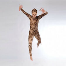 IN STOCK Leopard Print Dance Cats Catsuit Size 4 Adult Medium