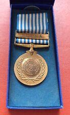 Greece Greek UN Korea War Medal + original box order badge