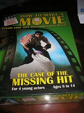 HOW TO MAKE A MOVIE THE CASE OF THE MISSING HIT 4 YOUNG ACTORS AGED 8-14 SEALED