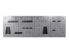 Ondis24 Werkzeugwand Lochwand mit Haken Werkstatt Werkzeughalter Metall 26 Teile
