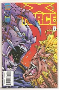 °X-FORCE #45 UNDER ONE ROOF° US Marvel 1995 Jeph Loeb