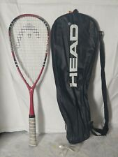 Rare Head Liquidmetal LM Fire Squash Racquet Racket With Carrying Case