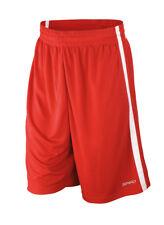 Ws Hombre Baloncesto Secado Rápido Pantalones Cortos Atletismo Holgado Gym Medio