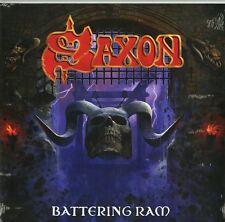 SAXON BATTERING RAM COFANETTO DELUXE CD+VINILE LP 180 GRAMMI +CD BONUS NUOVO