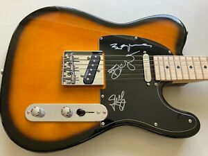 Abba ( Benny, Bjorn & Frid ) Autographed Signed Guitar , with certificate