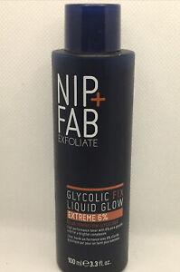 Nip&Fab Exfoliate Glycolic Fix Liquid Glow Extreme 6% -100 Ml - 3.3fl.oz- (615)