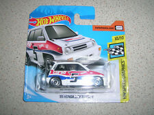 HOT WHEELS SPEED GRAPHICS '85 HONDA CITY TURBO 2 IN WHITE RARE SHORT CARD