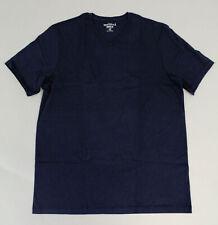 J. Crew Men's Tall Essential V-Neck T-Shirt CD4 Navy Large NWT
