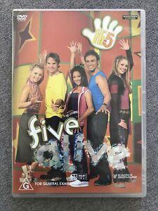 DVD - Hi5 FIVE ALIVE - ORIGINAL 2003  PAL region 4