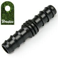 Steckverbinder 16mm Tropfrohr Schlauchverbinder gerade Bradas 7102