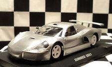 FLY 701201 Sunred SR21 Racing Metallic Silver w/ Avant Chassis & Motor Pod 1/32