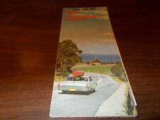 1960s New Brunswick Province-issued Vintage Road Map