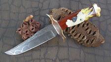 Custom Knife Bowie D. brodziak/C.A. o 'Connor damascos Handmade vintage rareza