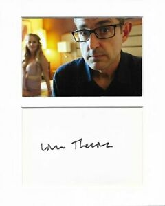 Louis Theroux when louis met genuine authentic signed autograph display AFTAL