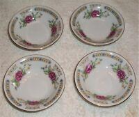 Liling Fine China, Yung Shen Ling Rose.  (4) finger bowls.