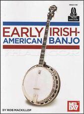 Early Irish-American Banjo TAB Music Book/Audio 4-String Tenor SAME DAY DISPATCH
