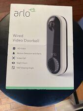 Arlo - Video Doorbell - Wired