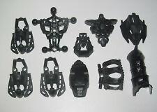 Lego ® Lot 10 Pièces Divers TOA Bionicle Noir Black