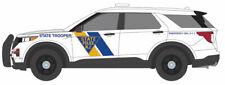 GREEN LIGHT POLICE NEW JERSEY STATE TROOPER SLICK TOP FORD EXPLORER CUSTOM UNIT