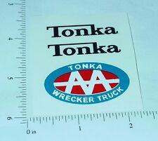 Tonka AA Jeep Wrecker Sticker Set                TK-036