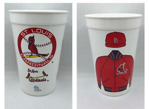 Vintage St. Louis Cardinals Plastic Icee Cup 1994 MLB Baseball