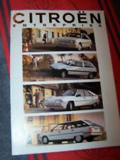 2K - Prospekt/Prospectus/Brochure/Catalogue Citroen AX BX Entreprise 4x4 1991